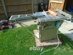 Startrite TA275 Saw with Sliding Table