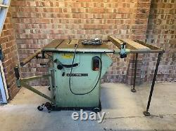 Startrite Tilt Arbor TA175 Table Saw Blade With Table Extensions 240v NO VAT