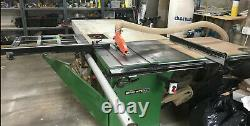 Startrite table saw Panel Saw TA1250 With Scribe Spindle Phase New Motor