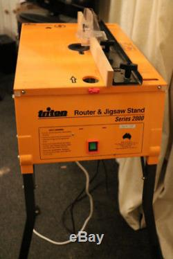 Triton Saw Bench Router Table Router Circular Saw And