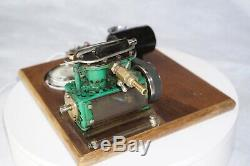 Two Cylinder Steam Engine with generator