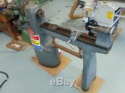 Union Graduate Wood turning Lathe. Ex HighSchool, With accessories