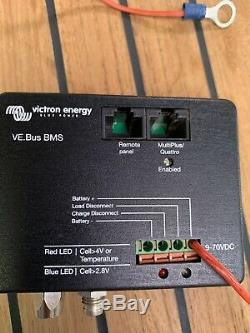 Victron 12v System, Inverter Charger And Lithium Battery
