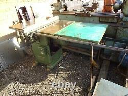 WADKIN BURSGREEN 10 AGS saw bench + extended table