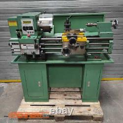 WARCO BH600G Gap Bed Lathe, 240V, with stand and accessories