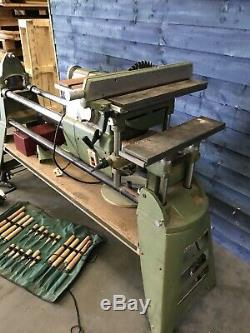 Wood Turning Lathe Saw Bench Plus Scroll Saw Multifunctional Piece Of Machinery